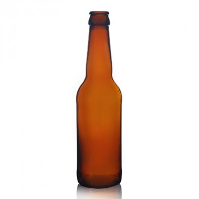 Amber Glass Beer Bottle - 26mm Neck (330ml)