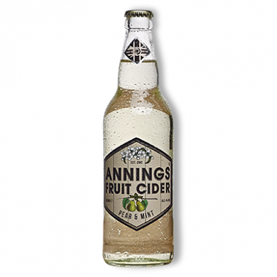Annings Cider - Pear & Mint (500ml) 4% ABV
