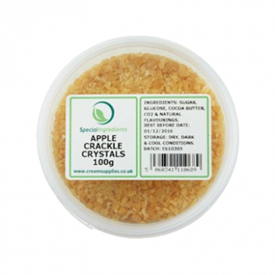 Apple Popping Candy / Crackle Crystals (100g)