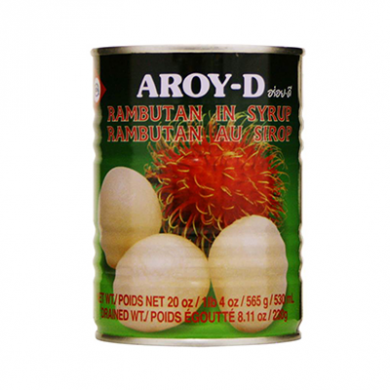 Aroy-D Rambutan in Syrup - Tin (530ml)