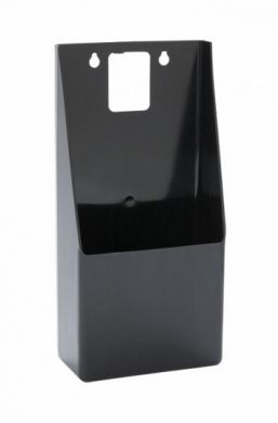 Black Plastic Standup Bottle Cap Catcher (Box Only)