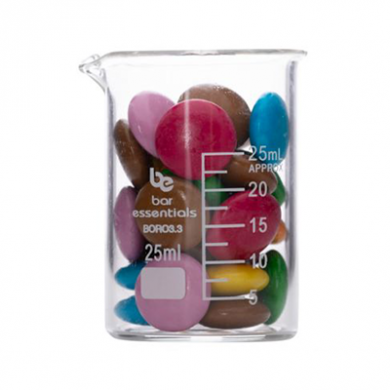 Beaker - Bar Essentials (Borosilicate Glass) 25ml