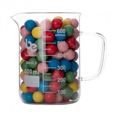 Beaker With Handle - Bar Essentials (Borosilicate Glass) 600