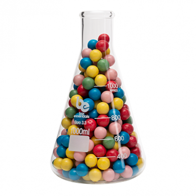 Conical Flask - Bar Essentials (Borosilicate Glass) 1000ml (