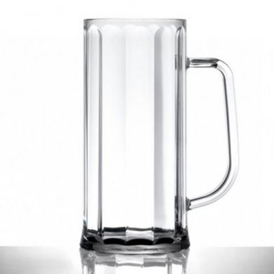 Polycarbonate - Bavarian Tankard PINT (20oz) CE Marked (Nucl