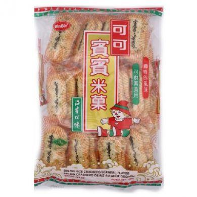 Bin-Bin Seaweed Flavour Rice Crackers (150g)