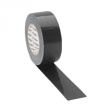 Black Fabric Tape (50mm x 50m) - Not Eco