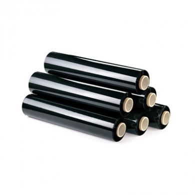 Black Pallet Wrap - 25 Micron (500mm x 200m)