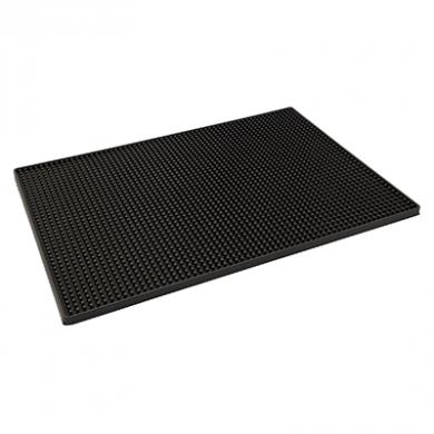 Black Rubber Bar Mat (450mm x 300mm)