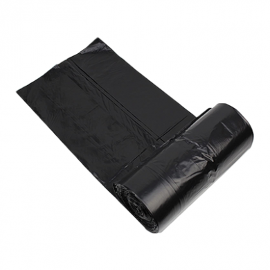 Black Oxo Degradable Square Bin Liners (30 Litre) - Medium D