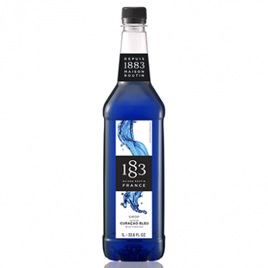 Routin 1883 Syrup - Blue Curacao (1 Litre) - Plastic Bottle