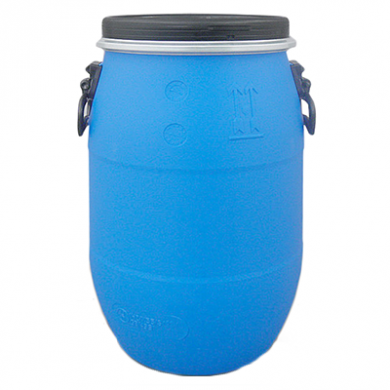 Blue Open Top Plastic Drum Barrel With Lid (120 Litre)