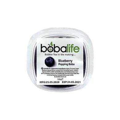Bobalife - Blueberry Bursting Bubbles (100g)