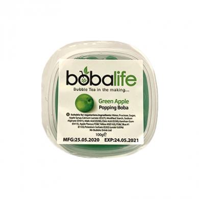 Bobalife - Green Apple Bursting Bubbles (100g)