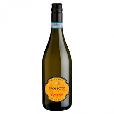 Borsari Prosecco Frizzante (750ml) - 10.5% ABV