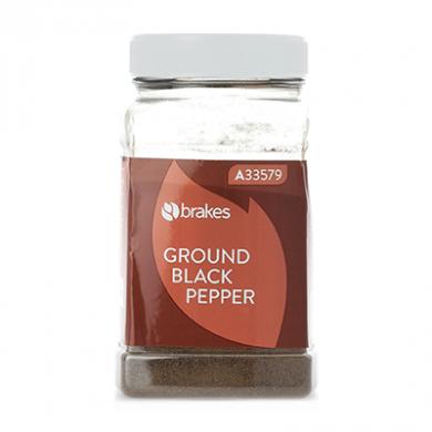 Ground Black Pepper (500g) - Brakes