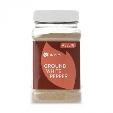 Ground White Pepper (600g) - Brakes
