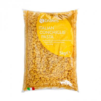 Italian Conchiglie Pasta (5kg) - Brakes