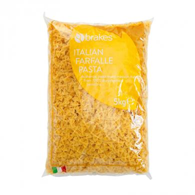 Italian Farfalle Pasta (5kg) - Brakes