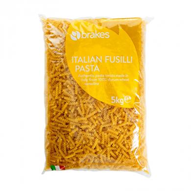 Italian Fusilli Pasta (5kg) - Brakes