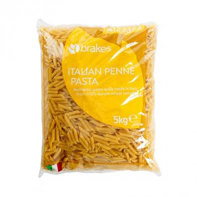Italian Penne Pasta (5kg) - Brakes