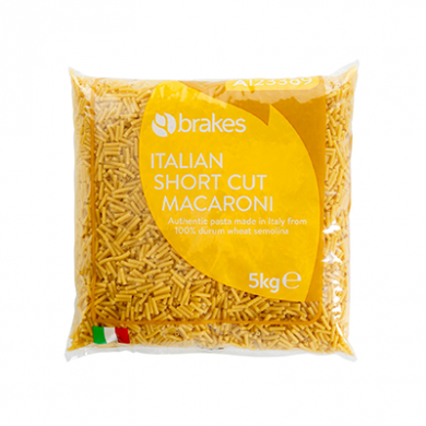Italian Short Cut Macaroni (5kg) - Brakes