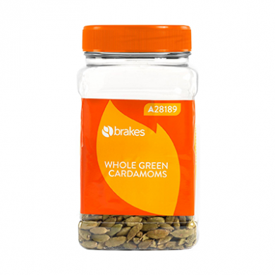 Whole Green Cardamoms (285g) - Brakes