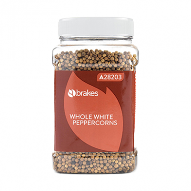 Whole White Peppercorns (500g) - Brakes