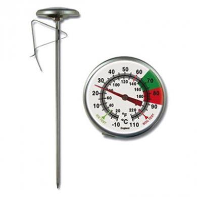 Brannan Milk Jug Thermometer (long version - 175mm)