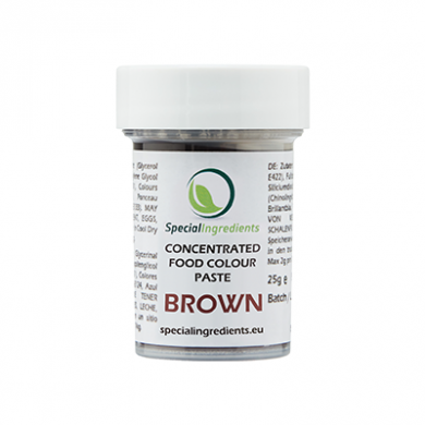 Brown Concentrated Food Colour Paste (25g)