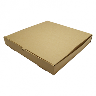 Bio Compostable Brown Kraft Pizza Box - 12 Inch (Pack of 100