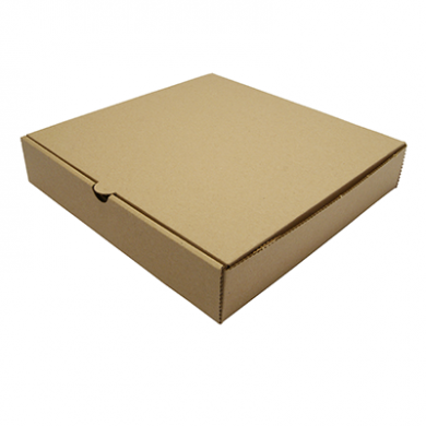 Bio Compostable Brown Kraft Pizza Box - 9 Inch (Pack of 100)