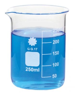 Measuring Beaker (Borosilicate Glass) 500ml (Image is 250ml