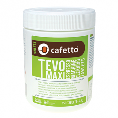 Cafetto Tevo Maxi - Espresso Machine Cleaning Tablets (150 T