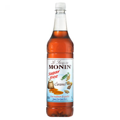 Monin Syrup - Caramel (Sugar Free) 1 Litre