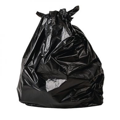 Biodegradable Black Bin Liners (Pack of 200)