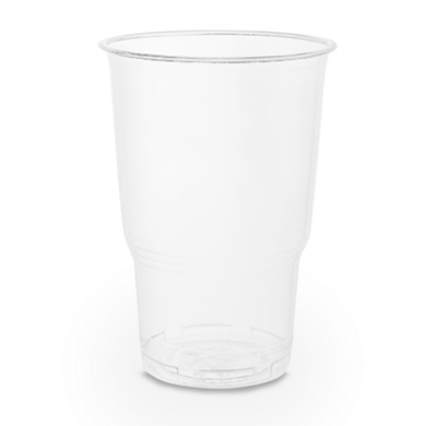 Bio Compostable CE-Marked HALF PINT Plastic Glass (Pk of 70)