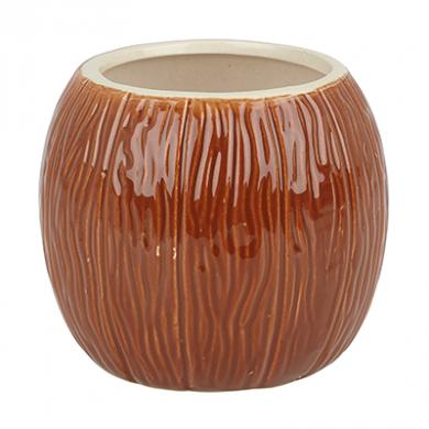 Tiki Ceramic Mug - Coconut (500ml)