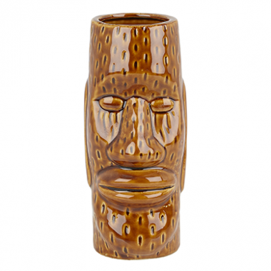 Tiki Ceramic Mug - Easter Islander (450ml)