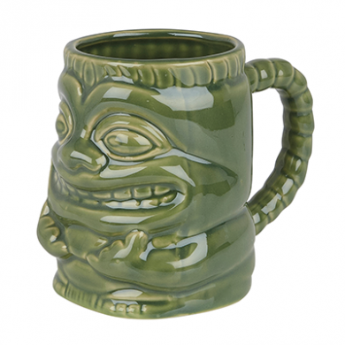 Tiki Ceramic Mug with Handle (425ml)