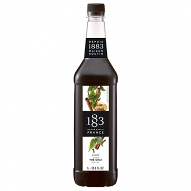 Routin 1883 Syrup - Chai Tea (1 Litre) - Plastic Bottle