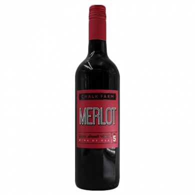 Chalk Farm Merlot (750ml) - 13% ABV