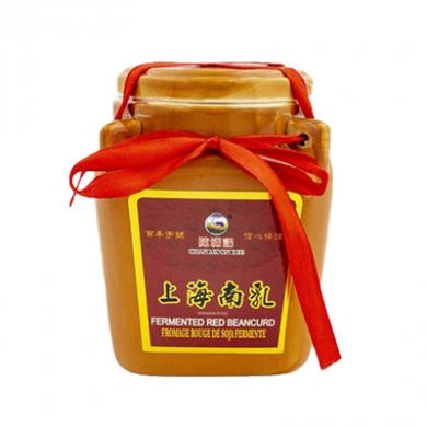 Fermented Red Beancurd (500g) - Chan Moon Kee Brand