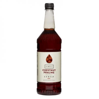 Simply Syrups - Chestnut Praline (1L)