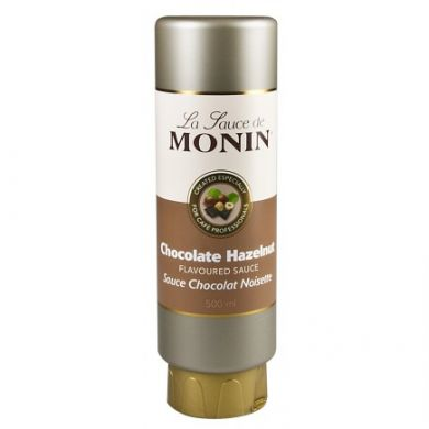 Monin Sauce - Chocolate Hazelnut Sauce (500ml)