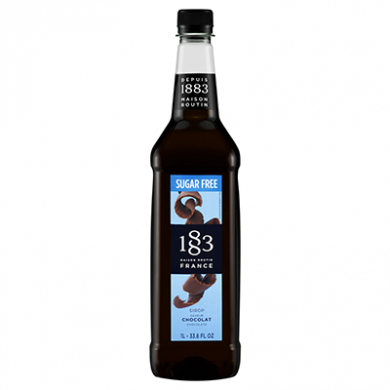 Routin 1883 Syrup - Chocolate Sugar Free (1 Litre) - Plastic