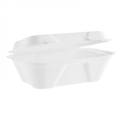Bio Compostable Clamshell - 7 x 5 inch (Pack of 50)
