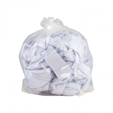 Clear Oxo Degradable Refuse Sacks (90 Litre) - Heavy Duty