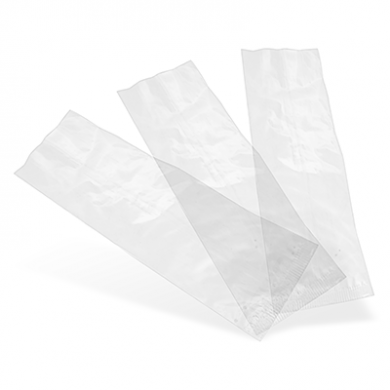 Bio Compostable Bag - Clear Natureflex (70 x 210mm) Pack of