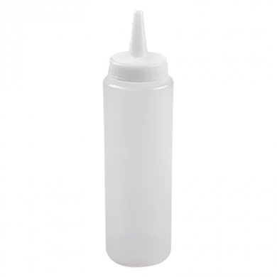 Squeeze Bottle - Clear (8oz/240ml)